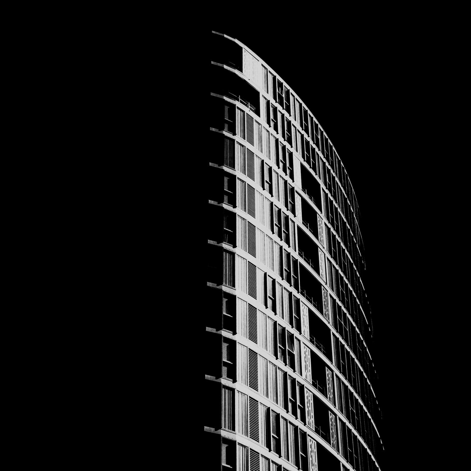 "From The Series ""High Rise""."
